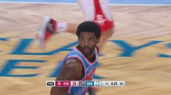 NBA, i 31 punti di Kyrie Irving contro Houston