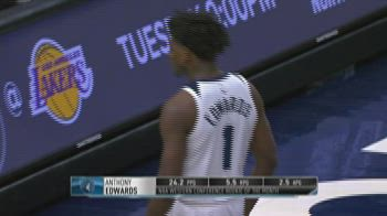 NBA, Anthony Edwards e LaMelo Ball rookie del mese di marzo