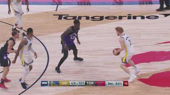 NBA, i 10 punti di Nico Mannion contro Toronto