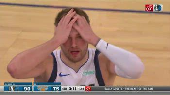 """NBA, Luka Doncic urla """"and one"""" e prende il fallo tecnico"""