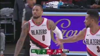 NBA, 32 punti di Lillard vs. Milwaukee