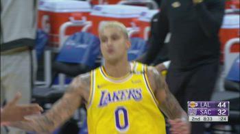 NBA, 30 punti di Kyle Kuzma vs. Sacramento