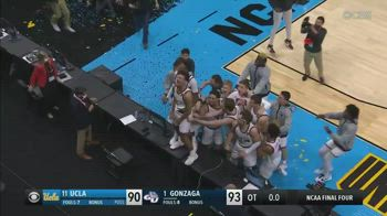 NCAA, il buzzer beater di Jalen Suggs: Gonzaga va in finale