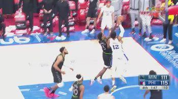 NBA, 32 punti per Tobias Harris contro Minnesota
