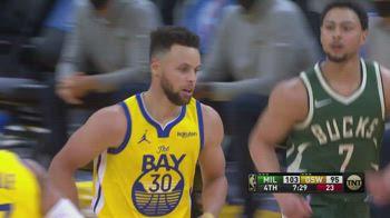 NBA, 41 punti di Steph Curry vs. Milwaukee