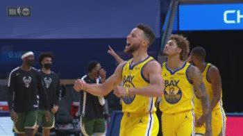NBA Highlights: Golden State-Milwaukee 122-121