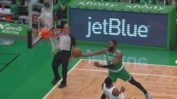 NBA, 32 punti per Jaylen Brown contro New York