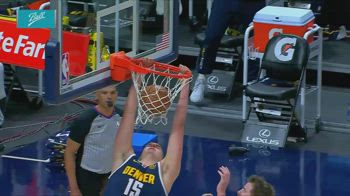 NBA, tripla doppia per Nikola Jokic contro San Antonio
