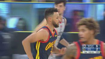 NBA, 32 punti per Steph Curry contro Washington