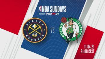 NBA Sundays: Denver-Boston alle 21 su Sky Sport NBA