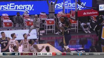 NBA, i 38 punti di Zion Williamson contro Cleveland