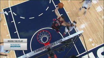 NBA, i 30 punti di Zach LaVine contro Minnesota