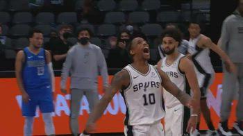NBA, il canestro della vittoria di DeRozan vs. Dallas