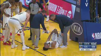 NBA, infortunio al ginocchio per Jamal Murray
