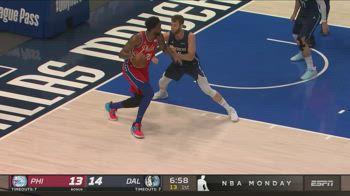 NBA, 36 punti di Joel Embiid contro Dallas
