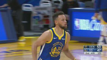 NBA, 53 punti di Steph Curry vs. Denver