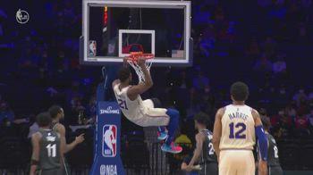 NBA, 39 punti per Joel Embiid contro Brooklyn