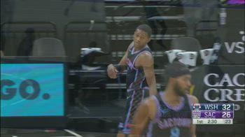 NBA, i 33 punti di De'Aaron Fox contro Washington