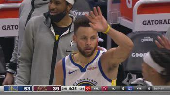 NBA, 33 punti di Steph Curry vs. Cavs