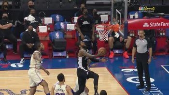 NBA, 37 punti per Paul George contro Philadelphia