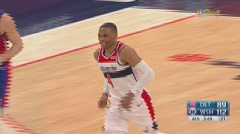 NBA Highlights: Washington-Detroit 121-100