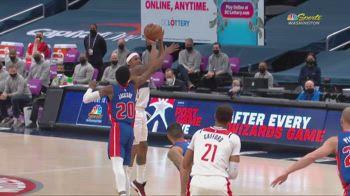 NBA, 37 punti di Bradley Beal contro Detroit