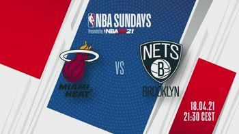 NBA Sundays: Miami-Brooklyn alle 21.30 su Sky Sport NBA