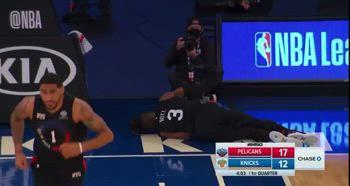 NBA, infortunio al polso di Nerlens Noel contro i Pelicans