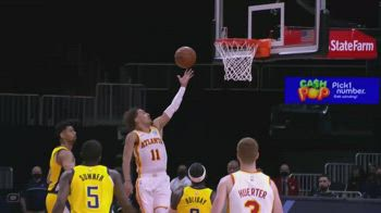 NBA, i 34 punti di Trae Young contro Indiana