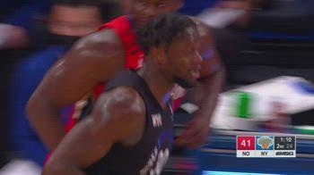 NBA, i 33 punti di Julius Randle contro New Orleans
