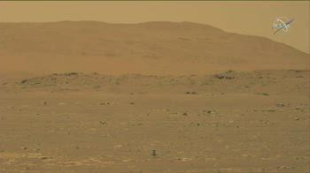 Marte, il drone elicottero Ingenuity compie il primo volo