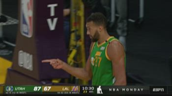 NBA Highlights: L.A. Lakers-Utah 97-111