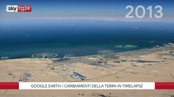 ++NOW Google Earth, i cambiamenti della Terra in timelapse