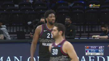 NBA, i 38 punti di Joel Embiid contro Phoenix