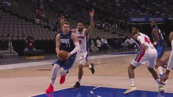 NBA, i 30 punti di Luka Doncic contro Detroit