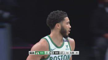 NBA, i 38 punti di Jayson Tatum contro Brooklyn