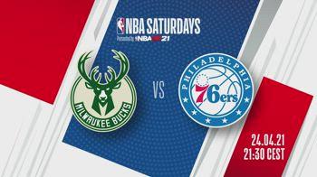 NBA Saturdays: Sixers-Bucks alle 21.30 su Sky Sport