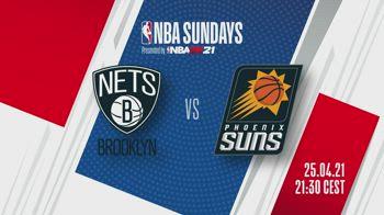NBA Sundays: Brooklyn-Phoenix in streaming su SkySport.it