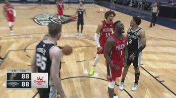 NBA, 33 punti per Zion Williamson contro San Antonio