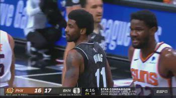 NBA, Irving scatenato nel 1° tempo vs. Suns
