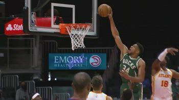 NBA, 31 punti per Giannis Antetokounmpo contro Atlanta