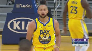 NBA, 37 punti di Steph Curry vs. Sacramento