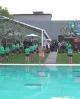 ATP Barcellona, Nadal festeggia con un tuffo in piscina