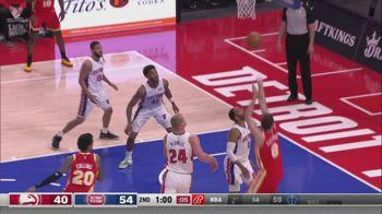 NBA, i 12 punti di Danilo Gallinari contro Detroit