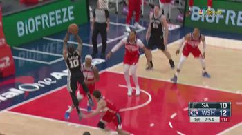 NBA, i 37 punti di DeMar DeRozan contro Washington