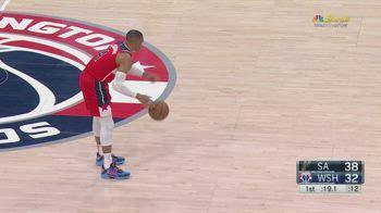 NBA, la tripla doppia di Russell Westbrook contro gli Spurs