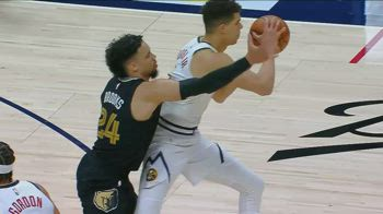 NBA, i 31 punti di Michael Porter Jr. contro Memphis