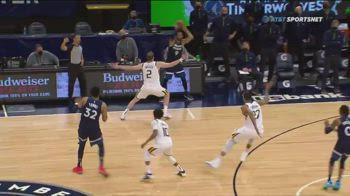 NBA, l'errore di Gobert, il canestro di Russell