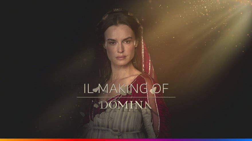 Domina, il making of della serie tv. VIDEO