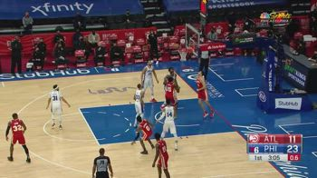 NBA, i 4 punti di Danilo Gallinari contro Philadelphia